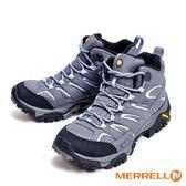 MERRELL MOAB 2 MID GORE-TEX防水登山多功能高筒 女鞋-淺灰(另有黑)