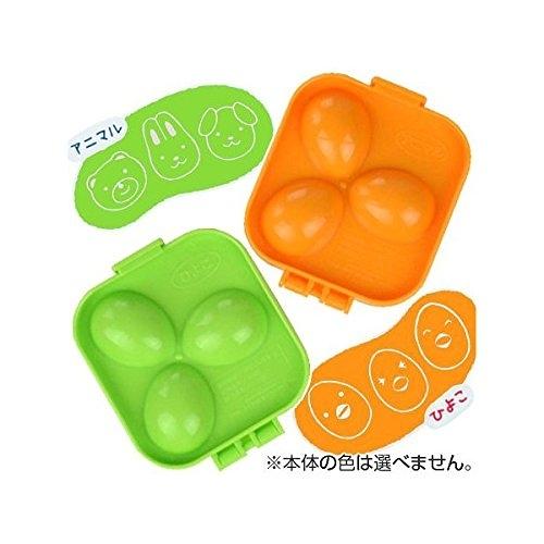日本 小久保工業所 deLijoy 動物 鴨子 蛋 造型蛋盒 卡通模具 料理 午餐【1879】