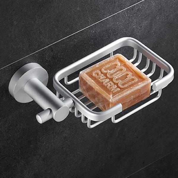 肥皂盒 太空鋁肥皂盒香皂盒肥皂架香皂架 衛生間皂碟皂網 置物架