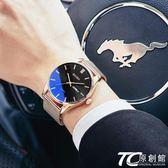 手表男士學生韓版簡約潮流休閑時尚非機械防水電子表石英2018新款