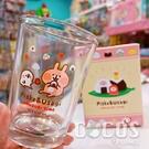 正版 卡娜赫拉的小動物 卡娜 兔兔 P助 玻璃杯 杯子 水杯 乾拜玻璃杯 吃飯糰款 COCOS SS280