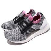 adidas 慢跑鞋 Ultra Boost X 黑 白 透氣避震 襪套式設計 運動鞋 女鞋【PUMP306】 BB6524