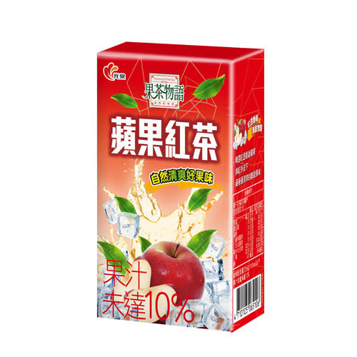 光泉果茶物語蘋果紅茶250ml*24【愛買】