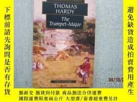 二手書博民逛書店英文原版書罕見WORDSWORTH CLASSICS THOMAS HARDY THE TRUMPET MAJOR
