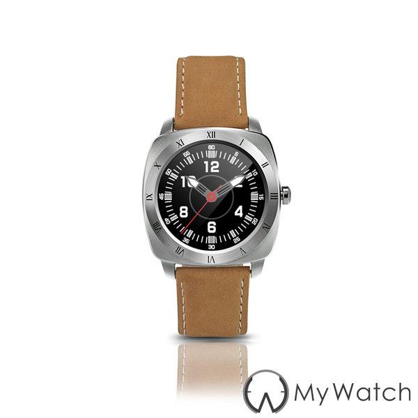 My Watch-最新第二代藍牙時尚智慧手錶DM88-斯文銀
