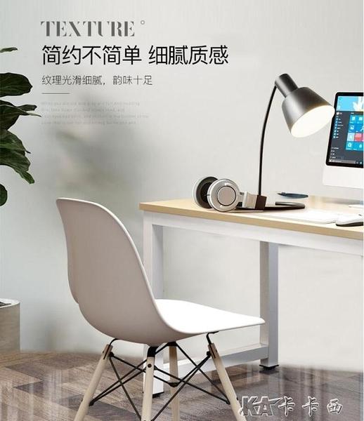 簡易電腦桌台式家用書桌簡約現代桌子臥室寫字台 【全館免運】