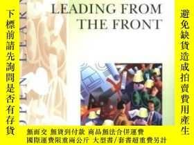 二手書博民逛書店Imolp罕見Leading From The Front (institute Of Management Op