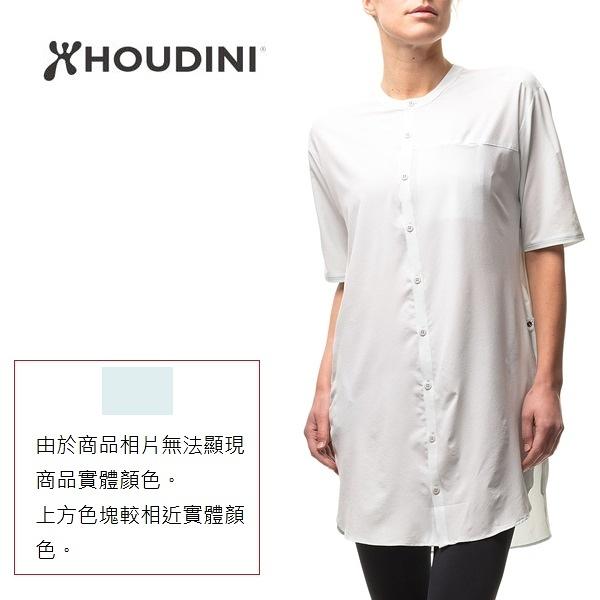 [瑞典  HOUDINI ] W's Trail Shirt Dress 襯衫式連身裙 女款 (寶貝冰藍)