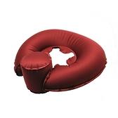 Outliving U型充氣枕 - 紅色