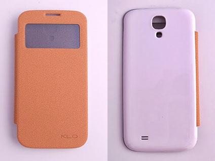 KALAIDENG 卡來登 Samsung GALAXY S4(GT-I9500)側翻電池蓋手機保護皮套 BEI貝系列