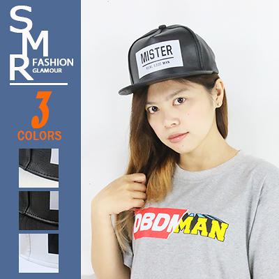 板帽-皮嘻哈MISTER版帽-美式街頭風實用款《9971-257》黑色.黑白色.白色【現貨+預購】『SMR』