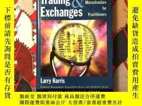 二手書博民逛書店Trading罕見& Exchanges Market Microstructure for Practition