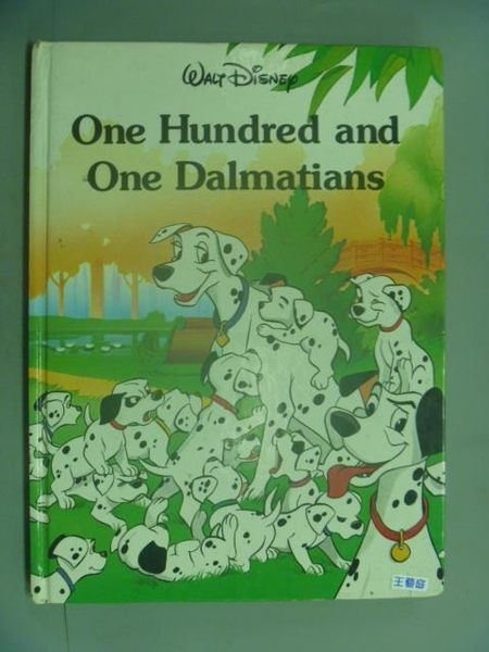 【書寶二手書T6/兒童文學_QJN】One Hundred and One Dalmatians _Dodie