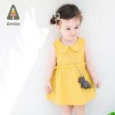 寶寶裙子夏裝女童新款0-1歲幼兒夏季公主裙2嬰兒純棉連身裙3 流行花園
