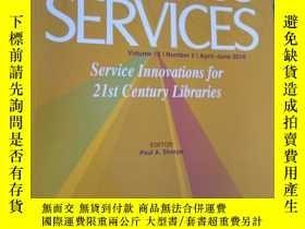 二手書博民逛書店Journal罕見of Access ServicesY1538