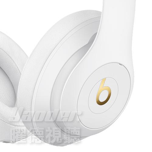【曜德★新品★免運】Beats Studio 3 Wireless 白色 藍芽無線 抗噪 耳罩式耳機 免持通話