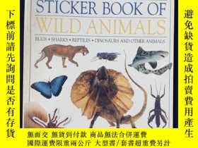 二手書博民逛書店The罕見giant sticker book of wild AnimalsY258675 出版社