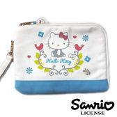 【三麗鷗正版】Hello Kitty 凱蒂貓 北歐風 收納包 隨身包 手拿包 三麗鷗 Sanrio - 005169