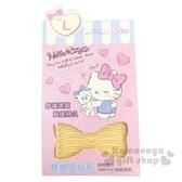〔小禮堂〕Hello Kitty 隱形雙眼皮貼《L.30入.粉》2.65x2.1mm.雙眼皮膠 4712977-46079