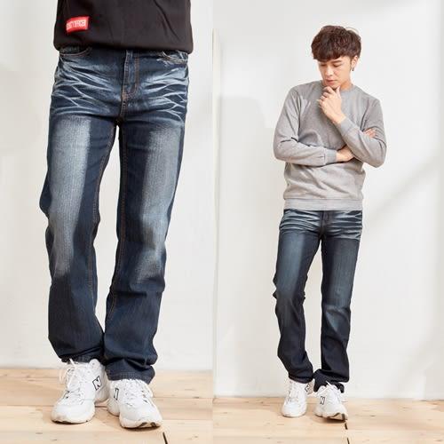 美式立體印花設計牛仔褲