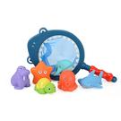 洗澡玩具 戲水玩具 鯊魚七件組 y7038