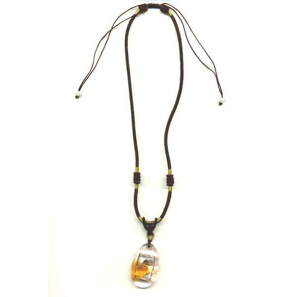 鹿港窯~居家開運水晶琉璃項鍊~永結同心◆附精美包裝◆免運費送到家