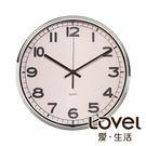 Lovel 31cm工業風鐵框魚眼鏡面靜...