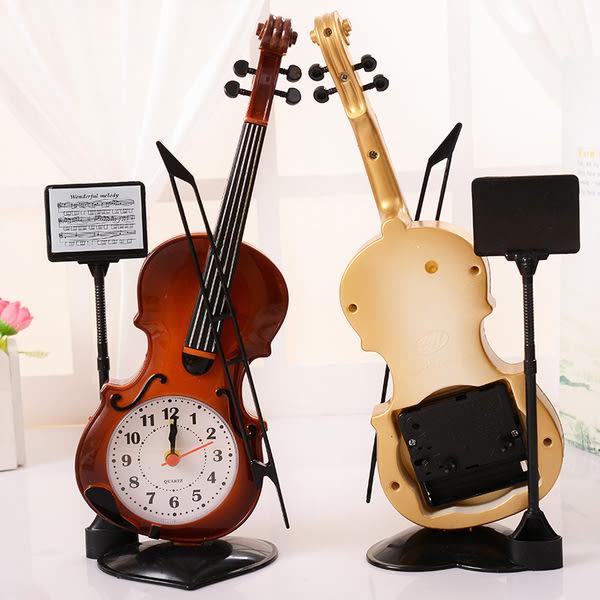 小提琴鬧鐘 擺飾 鬧鐘 時鐘 擺飾 生日禮物 喬遷禮物 母親節禮物