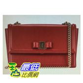 [COSCO代購] W1280029 Ferragamo 肩背包 米/紅兩色可選