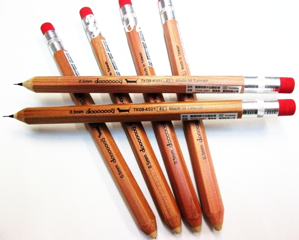 DATABANK臘腸狗原木自動鉛筆(TK08-4501)