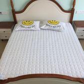 床護墊春夏綁帶式夾棉席夢思保潔墊1.5m 1.8 2米薄褥子學生igo  印象家品旗艦店