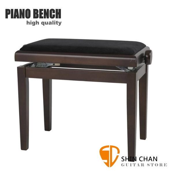 PIANO BENCH 咖啡色鋼琴椅 PJ023 可調整高度鋼琴椅/電鋼琴椅/電子琴椅/piano琴椅/Keyboard椅 GEWA同款