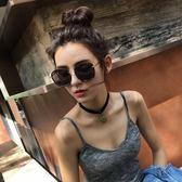2018新款太陽眼鏡推荐眼鏡年輕人墨鏡女潮圓臉個性方形偏光太陽眼鏡
