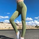運動褲(長褲)-高腰彈力訓練瑜珈女褲子2色73ul29【時尚巴黎】