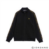 【GIORDANO】男裝G-MOTION品牌LOGO運動外套 - 31 標誌黑