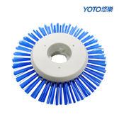 【YOTO悠樂】攜帶式一機多用防水清潔機 專屬配件-夾縫清潔刷 /打蠟機/去角質按摩機(ZY1392)