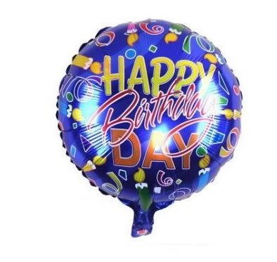 happy birthday(F25)18吋鋁箔氣球(未充氣)~~求婚道具/婚禮 會場 耶誕節 尾牙佈置