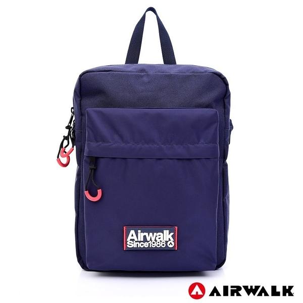 AIRWALK 休閒側背包 -藍色 A725300580