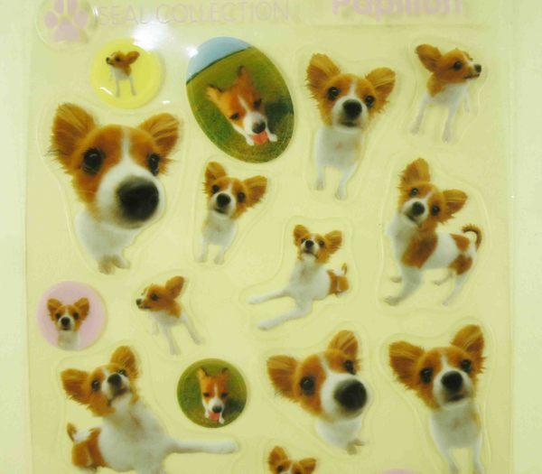 【震撼精品百貨】新大頭狗_The Dog~透明貼紙-巴比