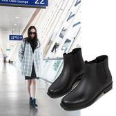 時尚雨靴短筒防滑水靴學生膠鞋切爾西水鞋防水成人雨鞋女 茱莉亞嚴選
