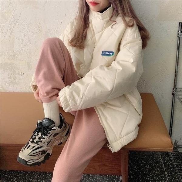 限時特銷 ins港風棉襖棉服年新款女裝韓版寬松冬季學生工裝棉衣外套潮