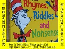 二手書博民逛書店RHYMES,RIDDLES罕見AND NONSENSE 彩色繪