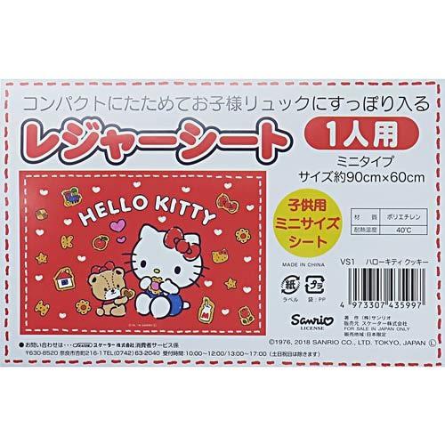HELLO KITTY野餐墊S(手繪小熊)★funbox★SKATER_S43599