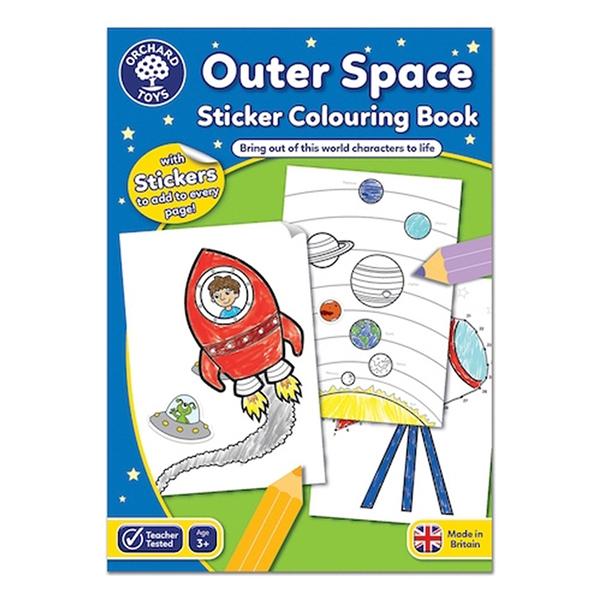 【英國 Orchard Toys】著色工作本-宇宙探險 OT-CB12
