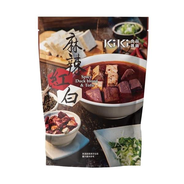 【南紡購物中心】KiKi食品雜貨-麻辣紅白x8袋(320g/袋)