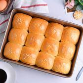 長方形深方盤 家用做蛋糕披薩餅干烤盤 烤箱用耐高溫烘焙工具  遇見生活