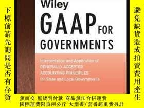 二手書博民逛書店Wiley罕見GAAP for Governments 2016: Interpretation and Appl