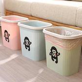 虎騎士垃圾桶家用大號創意衛生間臥室客廳廚房壓圈北歐簡約垃圾筒