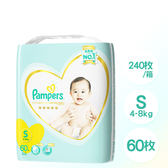 【Pampers】日本境內 一級幫 紙尿褲/尿布 (S) 60片×4包/1箱