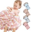 荷蘭Muslintree雙層動物印花嬰兒紗布包巾蓋被浴巾-JoyBaby